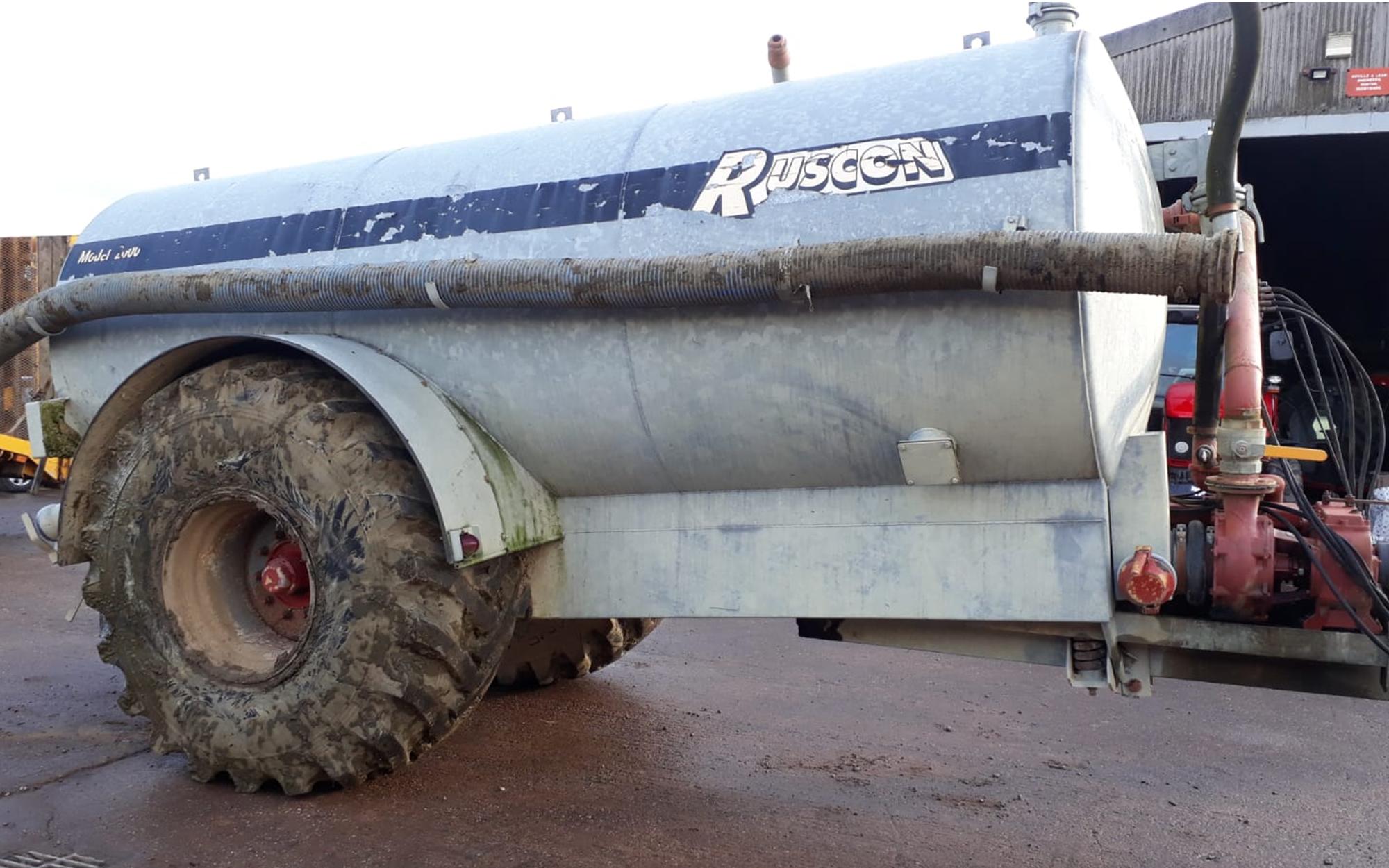 Ruscon tanker x scannel