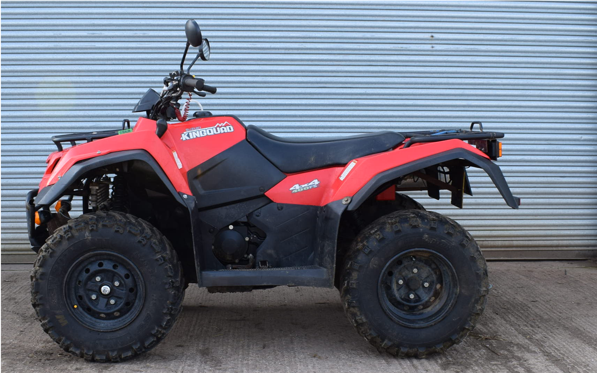 SUZUKI KING QUAD 3.2.20