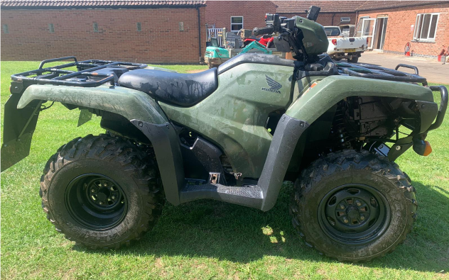 HONDA TRX 500 X QUORN HUNT small